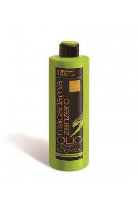 Olio Da Massaggio Macadamia e Zenzero da 500 ml