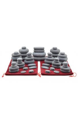 Set 60 Pietre Basaltiche per Massaggi