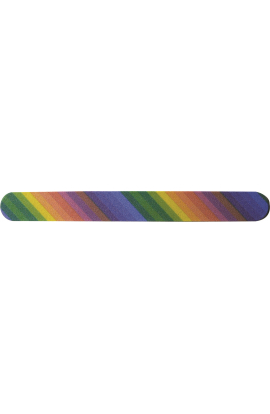 Emery Board rain Bow Design