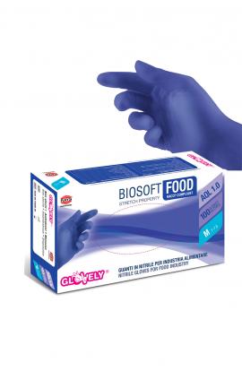 Guanti nitrile blu - confezione 100 pezzi